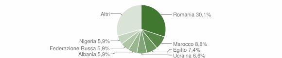 Grafico cittadinanza stranieri - Fombio 2019