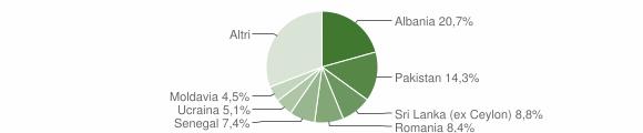 Grafico cittadinanza stranieri - Nave 2013