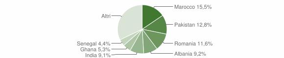 Grafico cittadinanza stranieri - Mazzano 2012
