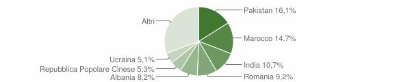 Grafico cittadinanza stranieri - Torbole Casaglia 2015