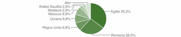 Grafico cittadinanza stranieri - Marmentino 2011