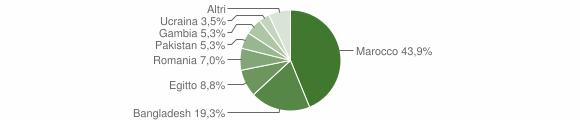 Grafico cittadinanza stranieri - Anfo 2019