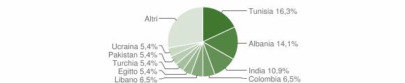 Grafico cittadinanza stranieri - Rodero 2014