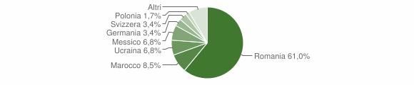 Grafico cittadinanza stranieri - Corteno Golgi 2013
