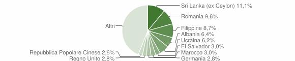Grafico cittadinanza stranieri - Cernobbio 2019