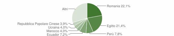 Grafico cittadinanza stranieri - Cinisello Balsamo 2019