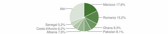 Grafico cittadinanza stranieri - Gavardo 2009