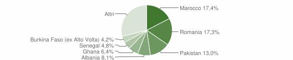 Grafico cittadinanza stranieri - Gavardo 2015