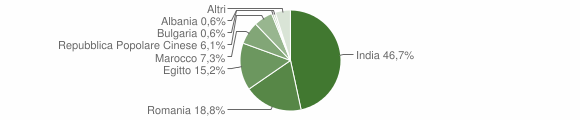 Grafico cittadinanza stranieri - Genivolta 2010