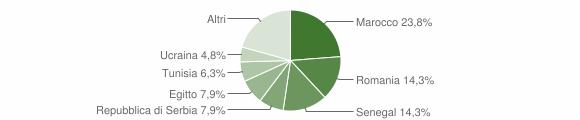 Grafico cittadinanza stranieri - Strozza 2019