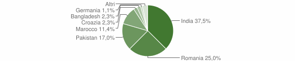 Grafico cittadinanza stranieri - Gabbioneta-Binanuova 2019