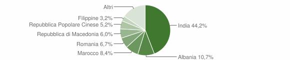 Grafico cittadinanza stranieri - Dosolo 2019