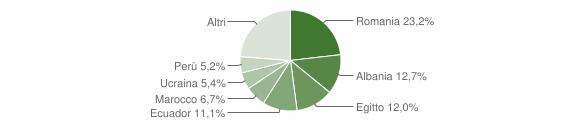 Grafico cittadinanza stranieri - Sedriano 2019