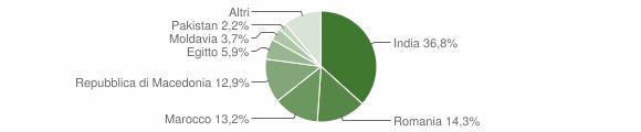 Grafico cittadinanza stranieri - Robecco d'Oglio 2009