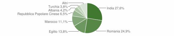 Grafico cittadinanza stranieri - Maleo 2019