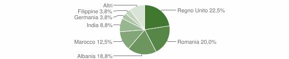 Grafico cittadinanza stranieri - Force 2019