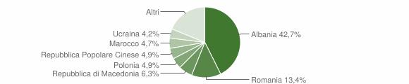 Grafico cittadinanza stranieri - Pedaso 2013