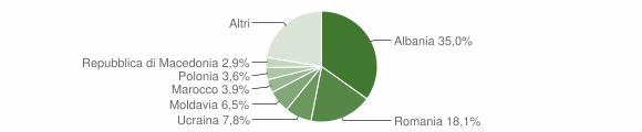 Grafico cittadinanza stranieri - Altidona 2017