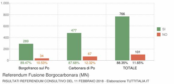 Referendum Fusione Borgocarbonara (MN)