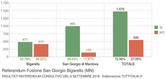 Referendum Fusione San Giorgio Bigarello (MN)