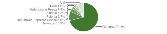 Grafico cittadinanza stranieri - Strambino 2013
