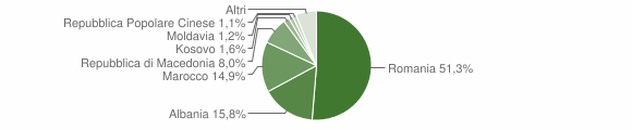 Grafico cittadinanza stranieri - Canale 2018