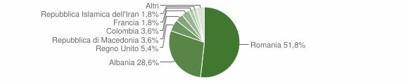 Grafico cittadinanza stranieri - Bergamasco 2010