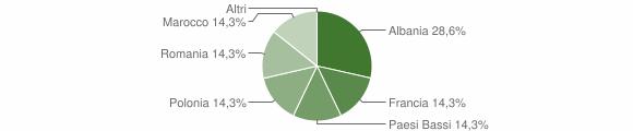 Grafico cittadinanza stranieri - Castellar 2013