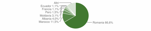 Grafico cittadinanza stranieri - Poirino 2014