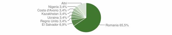 Grafico cittadinanza stranieri - Traves 2019
