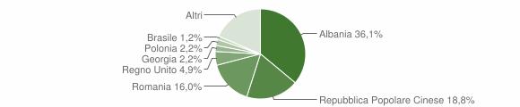 Grafico cittadinanza stranieri - Cisternino 2019