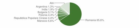 Grafico cittadinanza stranieri - Martano 2014