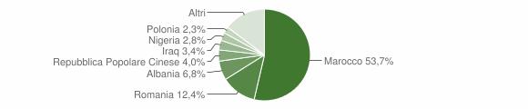 Grafico cittadinanza stranieri - San Marzano di San Giuseppe 2019