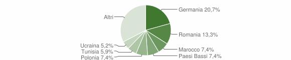 Grafico cittadinanza stranieri - Tenno 2019