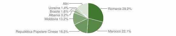 Grafico cittadinanza stranieri - Campolongo Maggiore 2019
