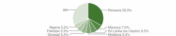 Grafico cittadinanza stranieri - San Martino Buon Albergo 2019