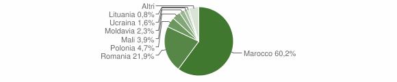 Grafico cittadinanza stranieri - Bevilacqua 2019