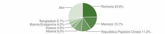 Grafico cittadinanza stranieri - Spresiano 2019