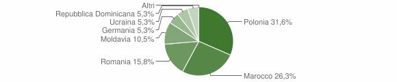 Grafico cittadinanza stranieri - Vighizzolo d'Este 2015