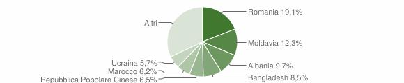 Grafico cittadinanza stranieri - 2013